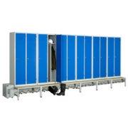 Module de 12 casiers ventilés industrie salissante