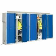 Module de 7 casiers chauffant LVS BUNGALOW