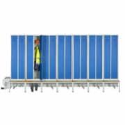 Module de 14 cases (7 places) du vestiaire ventilé industrie propre confort